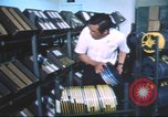 Image of radio station Los Angeles California USA, 1975, second 27 stock footage video 65675073624