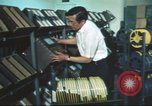Image of radio station Los Angeles California USA, 1975, second 34 stock footage video 65675073624