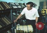 Image of radio station Los Angeles California USA, 1975, second 36 stock footage video 65675073624