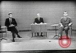 Image of presidential election debate Chicago Illinois USA, 1960, second 2 stock footage video 65675073630