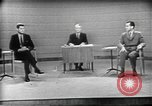 Image of presidential election debate Chicago Illinois USA, 1960, second 3 stock footage video 65675073630