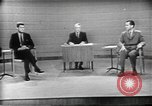 Image of presidential election debate Chicago Illinois USA, 1960, second 4 stock footage video 65675073630