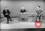 Image of presidential election debate Chicago Illinois USA, 1960, second 9 stock footage video 65675073630