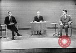 Image of presidential election debate Chicago Illinois USA, 1960, second 10 stock footage video 65675073630