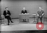 Image of presidential election debate Chicago Illinois USA, 1960, second 27 stock footage video 65675073630