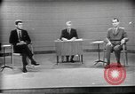 Image of presidential election debate Chicago Illinois USA, 1960, second 31 stock footage video 65675073630