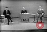 Image of presidential election debate Chicago Illinois USA, 1960, second 38 stock footage video 65675073630