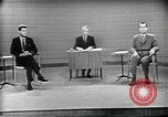 Image of presidential election debate Chicago Illinois USA, 1960, second 44 stock footage video 65675073630