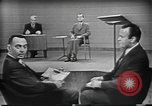 Image of presidential election debate Chicago Illinois USA, 1960, second 18 stock footage video 65675073632