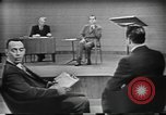 Image of presidential election debate Chicago Illinois USA, 1960, second 19 stock footage video 65675073632