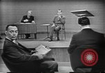 Image of presidential election debate Chicago Illinois USA, 1960, second 20 stock footage video 65675073632