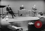 Image of presidential election debate Chicago Illinois USA, 1960, second 21 stock footage video 65675073632