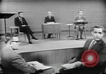 Image of presidential election debate Chicago Illinois USA, 1960, second 22 stock footage video 65675073632