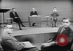 Image of presidential election debate Chicago Illinois USA, 1960, second 23 stock footage video 65675073632
