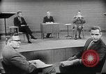 Image of presidential election debate Chicago Illinois USA, 1960, second 24 stock footage video 65675073632