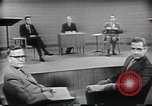 Image of presidential election debate Chicago Illinois USA, 1960, second 25 stock footage video 65675073632