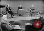 Image of presidential election debate Chicago Illinois USA, 1960, second 26 stock footage video 65675073632