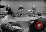 Image of presidential election debate Chicago Illinois USA, 1960, second 27 stock footage video 65675073632