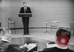 Image of presidential election debate Chicago Illinois USA, 1960, second 7 stock footage video 65675073638