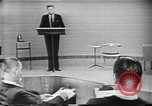 Image of presidential election debate Chicago Illinois USA, 1960, second 9 stock footage video 65675073638