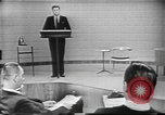 Image of presidential election debate Chicago Illinois USA, 1960, second 11 stock footage video 65675073638