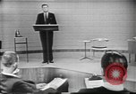 Image of presidential election debate Chicago Illinois USA, 1960, second 15 stock footage video 65675073638