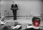 Image of presidential election debate Chicago Illinois USA, 1960, second 16 stock footage video 65675073638