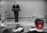 Image of presidential election debate Chicago Illinois USA, 1960, second 18 stock footage video 65675073638