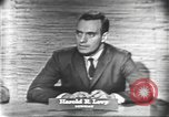 Image of presidential election debate Washington DC USA, 1960, second 4 stock footage video 65675073647