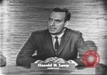 Image of presidential election debate Washington DC USA, 1960, second 7 stock footage video 65675073647