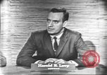 Image of presidential election debate Washington DC USA, 1960, second 10 stock footage video 65675073647