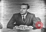 Image of presidential election debate Washington DC USA, 1960, second 11 stock footage video 65675073647
