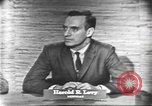 Image of presidential election debate Washington DC USA, 1960, second 13 stock footage video 65675073647