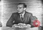 Image of presidential election debate Washington DC USA, 1960, second 18 stock footage video 65675073647
