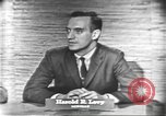 Image of presidential election debate Washington DC USA, 1960, second 19 stock footage video 65675073647