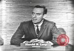 Image of presidential election debate Washington DC USA, 1960, second 27 stock footage video 65675073647