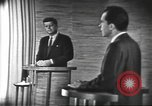 Image of presidential election debate Washington DC USA, 1960, second 62 stock footage video 65675073647