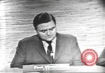 Image of presidential election debate Washington DC USA, 1960, second 2 stock footage video 65675073648