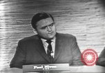 Image of presidential election debate Washington DC USA, 1960, second 4 stock footage video 65675073648