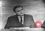 Image of presidential election debate Washington DC USA, 1960, second 5 stock footage video 65675073648