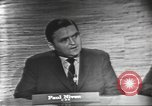 Image of presidential election debate Washington DC USA, 1960, second 7 stock footage video 65675073648