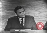 Image of presidential election debate Washington DC USA, 1960, second 11 stock footage video 65675073648