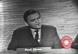 Image of presidential election debate Washington DC USA, 1960, second 12 stock footage video 65675073648