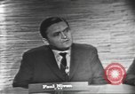 Image of presidential election debate Washington DC USA, 1960, second 13 stock footage video 65675073648