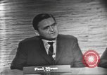 Image of presidential election debate Washington DC USA, 1960, second 14 stock footage video 65675073648