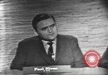 Image of presidential election debate Washington DC USA, 1960, second 17 stock footage video 65675073648