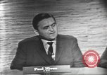 Image of presidential election debate Washington DC USA, 1960, second 20 stock footage video 65675073648