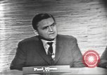 Image of presidential election debate Washington DC USA, 1960, second 22 stock footage video 65675073648