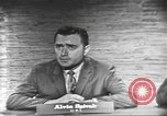 Image of presidential election debate Washington DC USA, 1960, second 8 stock footage video 65675073649