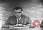Image of presidential election debate Washington DC USA, 1960, second 9 stock footage video 65675073649